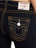 True Religion Women's Big T Jennie Curvy Skinny Stretch Jeans in Body Rinse