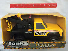 TONKA #92202 Steel Classics Tow Truck - New Factory Sealed Road Service Toy 3+