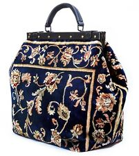 LARGE VICTORIAN-STYLE MARY POPPINS CARPET BAG