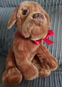 30cm Keel Toys Brown Bulldog /Dog De Bordeux Plush Soft Toy