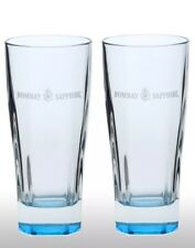 Bombay Sapphire Gin Tall Glass New X 2 Cheapest On eBay