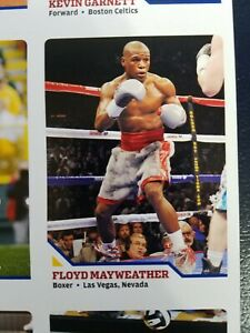 Floyd Mayweather Sports Illustrated for Kids SI For KIDS ROOKIE UNCUT SHEET WOW