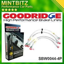 BMW 5 (E39) SALOON (Inc. M5) 96-03 Zinc Plated Goodridge Brake Hoses SBW0044-4P