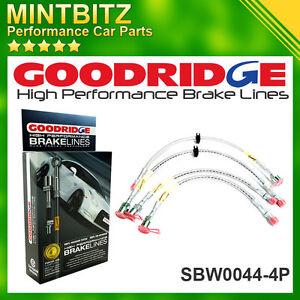 BMW 5 E39 SALOON M5 98-03 Zinc Plated Goodridge Brake Hoses SBW0044-4P