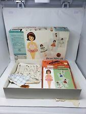 VTG Betsy McCall Fashion Designer Patterns Folder Electric Light Desk Works 1961