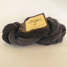 New listing Araucania Ranco Solid Wool Polyamide Hand Dyed Yarn Tonal Grey 376 Yd