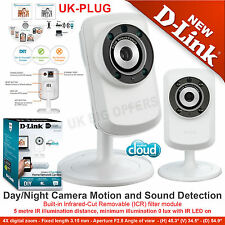 D-Link Wi-Fi Day / Night Vision Camera Motion and sound Detection DCS-932L/B UK
