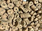 "Cork Rings 4 Wave Burl  #1,  1 1/4"" x 1/2"" x 1/4"" Hole, New Better Grain!"