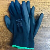 Horse Stable Gloves Riding / Yard Work Polyester Grip Polyurethane palm coating