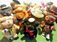 Vintage 1985 Jointed Teddy Bear Lot Jean Steele Original Kent Collectible Reno