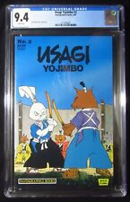 Usagi Yojimbo #2 (First series 1987) CGC 9.4...Stan Saki story, cover & art