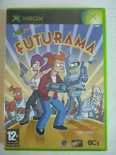 XBOX original FUTURAMA game PAL complete with manual 2003