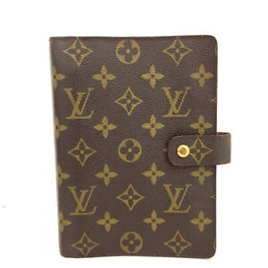 Louis Vuitton Monogram Agenda MM Notebook Cover /D1436
