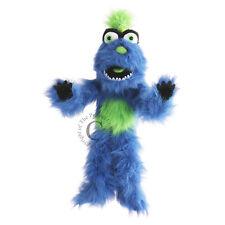 Handpuppe blau-grünes Monster 65cm groß
