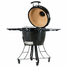 Pit Boss Ceramic BBQ Grill, smoker, grill cover included. 662 sq. in. of cooking