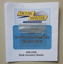 DASH ACCESSORY KNOBS 1:24 1:25 DETAIL MASTER CAR MODEL ACCESSORY 3350