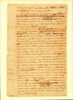 "POSTCARD-PAGE ONE OF THE ""ROUGH DRAFT"" OF THE DECLARATION OF INDEPENDENCE   BK22"