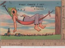 VINTAGE USED COMIC POST CARD #  374   PRICE IS RIGHT CONTEST ENTRY