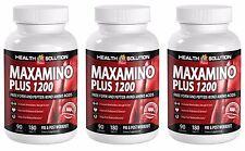 A Healthy Brain - MAXAMINO PLUS 1200 - Muscle Builder 3B