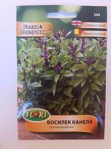 Cinnamon Basil Herb & Spice Vegetable apx. 0.5 gram Seeds Ocimum Basilicum