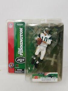 McFarlane New York Jets Chad Pennington Action Figure With Display Base. NFL.