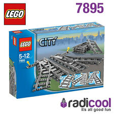 7895 lego switch tracks city 5-12 ans/8 pieces/brand new in box