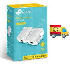 KIT EXTENSOR RED PLC POWERLINE 600 Mbps TP-LINK NO WIFI KIT AV600 ENVIO HOY
