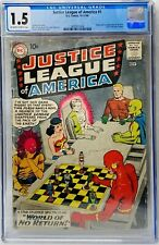Justice League of America #1 (1960) CGC 1.5 MegaKEY 1st Issue 1st Despero Appear