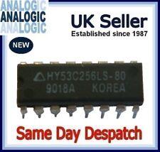 New Pack of 10 Hyundai DIP-16 HY53C256LS-80 256Kx1 DRAM