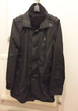 Superdry - Trench Coat - Double Black Label - Extra Large