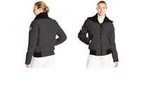 New Canada Goose Women's Huron Bomber -Graphite size XS extra small