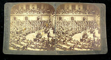 Underwood & Underwood Stereoview Card - Joint Session of Congress