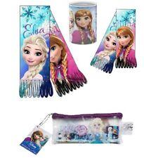 Disney Frozen Eiskönigin SET - Schal -Federtasche gefüllt + Sparbüchse