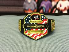 WWE Wrestling Mattel United States US Title Belt Championship Accessory Figures
