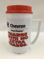 Travel Mug Vintage Chevron Gas Convenience Store Promotional New 12 Oz  B08