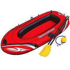 Schlauchboot Set Boot Pumpe Ruder Paddel Badespaß Funboot Ruderboot Paddelboot