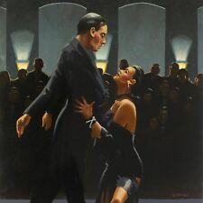 """Jack Vettriano - Rumba in Black"""" - Kunstdruck - 50x70cm"""