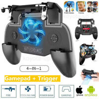 Mobile Phone Game Controller Joystick Cooling Fan Gamepad for PUBG Android IOS K