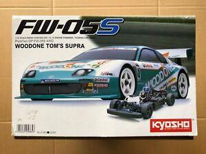 VINTAGE #31483 KYOSHO FW-05S 1/10 Scale Nitro Woodone Tom's Supra