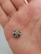 Authentic Pandora Rose Bud Charm Sterling Silver Retired 790394