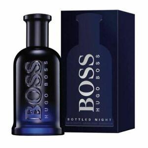 Hugo Boss Bottled Night 100ml EDT for Men Spray Genuine Brand New Sealed