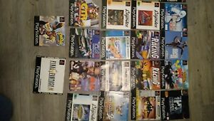 Lot jeux PS1 - notices - jaquettes - loose