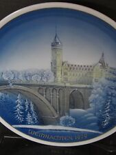 Rosenthal Classic Rose Christmas 1979 Luxembourg Annual Plate