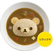New San-X Rilakkuma Relax Bear Rice Ball Sushi Mould Mold Cute Style Curry Rice