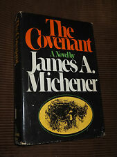 The Covenant by James Michener 1980 HC/DJ BCE