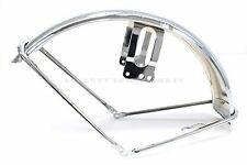 New Reproduction Honda Chrome Front Fender 70-71 CB350K CL350 (See Notes) O34
