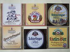 6 Etiketten, Weissbierbrauer Kuchlbauer, Bayern