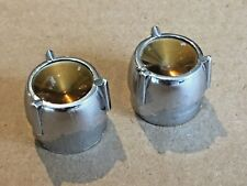1956 1958 CHRYSLER WINDSOR NEW YORKER SARATOGA RADIO KNOBS FACTORY ORIGINALS
