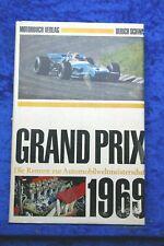 Grand Prix 1969 Buch von Ulrich Schwab Motorbuch Verlag
