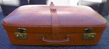 Vintage  Leder Reise Koffer Suitcase 55 x 33 x 14cm  50er rar